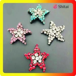 sew on patches star sequin beaded design