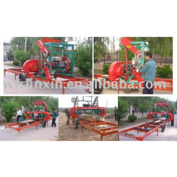 portable sawmill (Diesel and electrical engine)