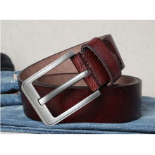 Original pure cowhide top sale men leather belt