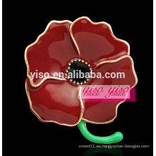 Broche de la aleación de la flor del esmalte de la manera