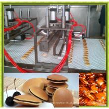 Linha de produção automática de Dorayaki da venda quente