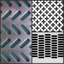 Нержавеющая сталь Перфорированная металлическая сетка / Перфорированная решетка для металлической сетки
