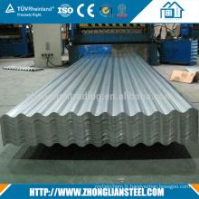 Aluzinc 14 16 24 26 Tôle d'acier galvanisé revêtu de 2 mm d'épaisseur