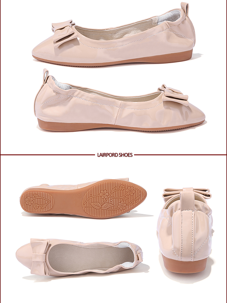 white ladies flat shoes