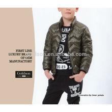 Peso leve leve e crianças suaves Inverno Wear Popluar Fashion Color