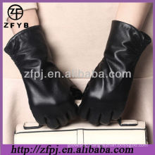 2013 ladies leather gloves fur lined