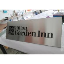 Stainless Steel Metal Etched Pattern Plaque