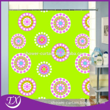 Printing Sunflower Polyester Fabric Shower Curtain