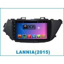 Автомобильный DVD-плеер с системой Android для Lannia 8-дюймовый сенсорный экран с GPS-навигацией
