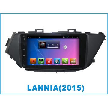 Système Android Car DVD pour Lannia Ecran tactile 8 pouces avec navigation GPS