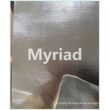 Aislamiento de fibra de vidrio de fibra de aluminio para el material de construcción
