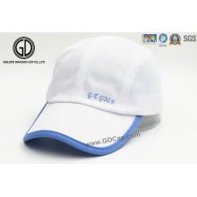 New Fashion Polyester Outdoor Hat Sports Golf Cap com impressão e bordados