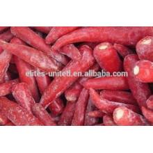 IQF congelado preço pimentão vermelho