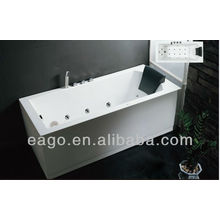 EAGO massage tub Whirlpool Bathtub with pillow for one