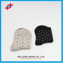 Neue Entwurfsfrauen Punktentwurfs-Massenbaumwollsocke kundenspezifische Socke