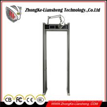 Puerta de arco de luz infrarroja Detector de metales Detector de metales Detección de seguridad