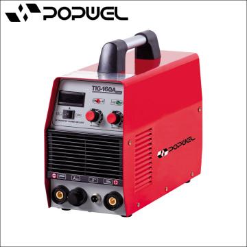 TIG Portable utilizado máquina de soldadura de una sola fase de soldadura TIG160A