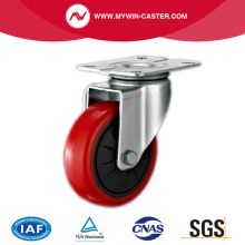 Plate Rotating PU Industrial Caster