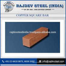 Excelente barra de cobre cuadrado resistente a la corrosión a precio de venta al por mayor