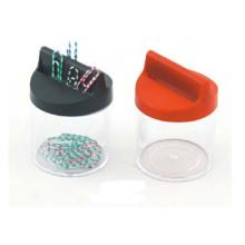 Dispensador de clip de papel de venta caliente / soporte de clip magnético