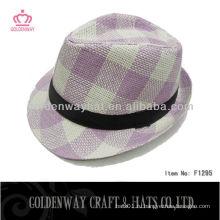 Женская шляпа Fedora