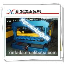 Металлическая кровельная плитка машина / Производитель и дизайн листового металла Профилегибочная машина