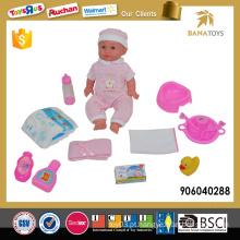 Brinquedo de 14 polegadas pvc boneca para crianças