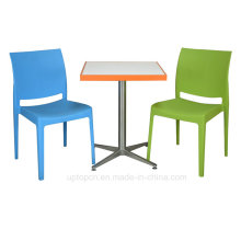 Hot Sale Modern Plastic Table and Chair Set (SP-CT478)
