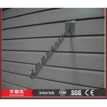 Panneaux slatwall usés panneaux lamellaires pvc slatwall