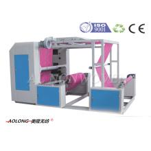AL-P41200 2 цвета нетканой ткани флексографская печатная машина