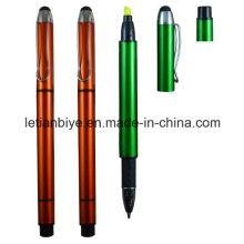 Stylo de marqueur de marqueur, stylo fluorescent (LT-D006)