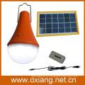 lámpara de camping solar al aire libre con control remoto