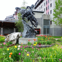 бронзовая статуя Ремингтон