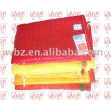 orange mesh plastic woven bags shinny color! good strength! competitive prices!