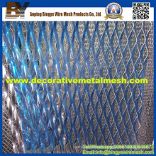 Expanded Aluminum Metal Mesh for Cultural Center Decoration