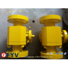 API 6D Flanged Three Way L Type Ball Valve