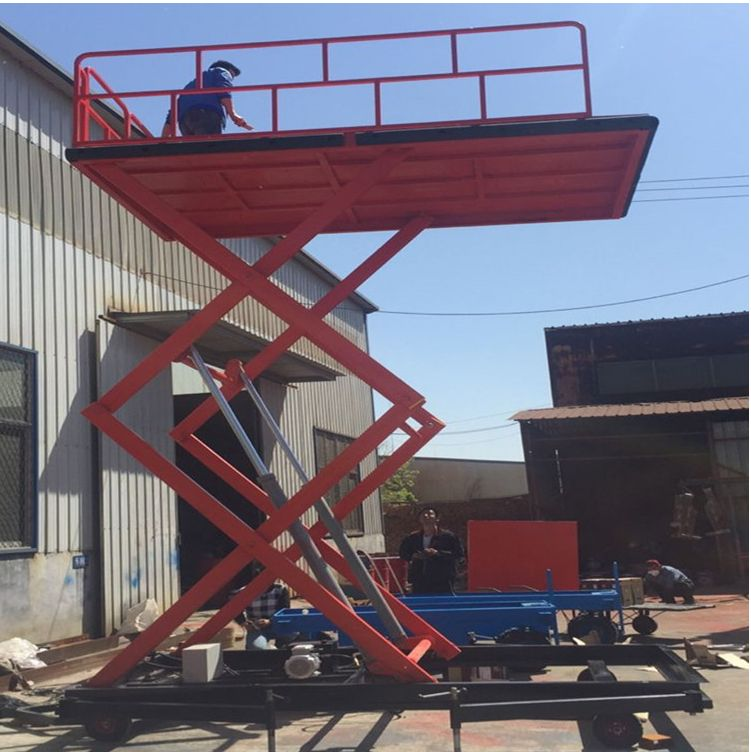 Container Dock Ramp Mobile Loading Ramp For Forklift