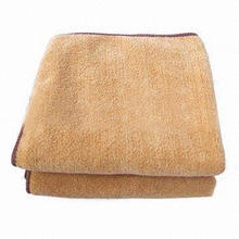 Promotional Microfiber Towels, Excellent Ability to Absorb Dust and Oil, Customized Colors Welcomed