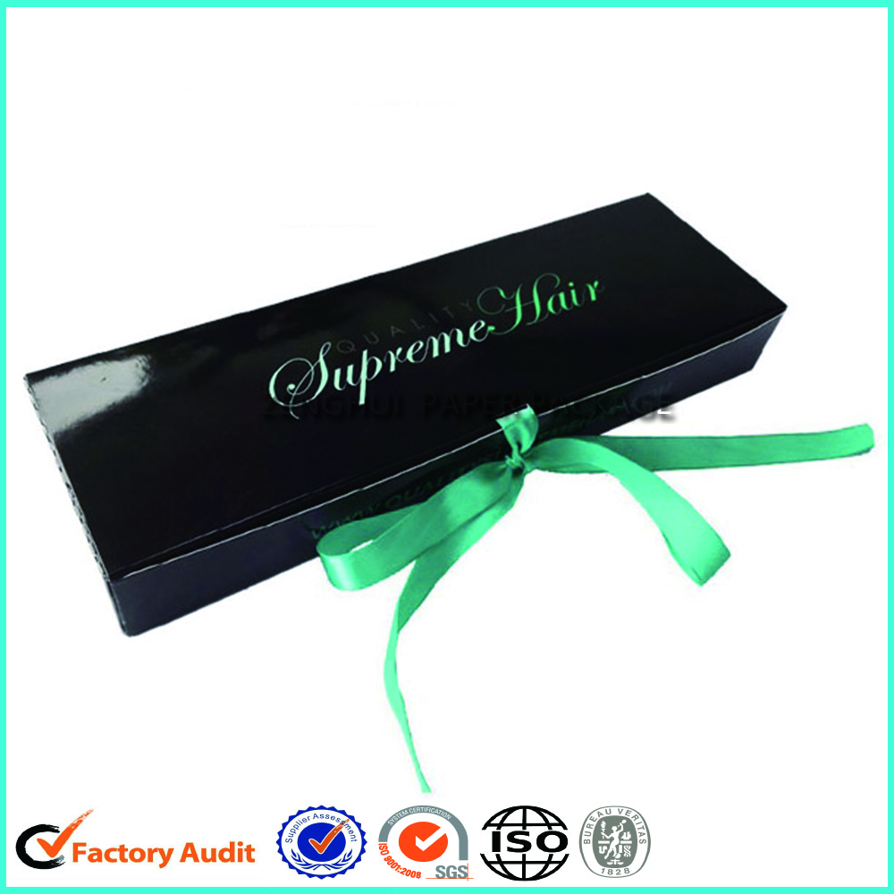 Custom Hair Extension Packaging Boxes