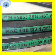 Premium Quality Wire Braid Hydraulic Hose SAE 100 R2 at/DIN En 853 2sn