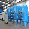 Filtração de areia de quartzo multimédia para tratamento de água