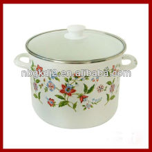 enamel deep cooking pot with high quality