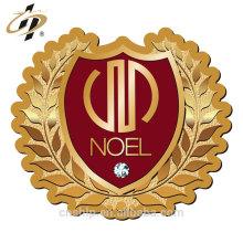Pinos de lapela de metal de diamante 24k ouro design personalizado grátis