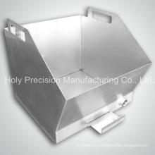 Изготовленный на заказ изготовление металлического листа части со сваркой