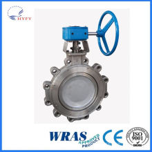 High cost performance dsd341x underground pipe network flange butterfly valve for drainage