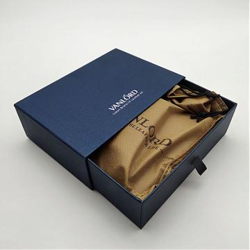 Caixa de empacotamento do presente quadrado do papel da gaveta do cartão