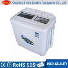 Machine à laver jumelle semi-automatique de chargement de baignoire jumelle (XPB68-2002S-A)
