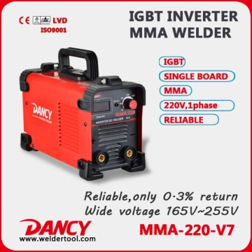 GOOD QUALITY family inverter arc 200 welding machine