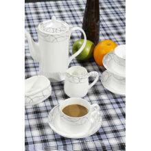 Модный дизайн чашка & блюдце Мусульманский кофе и чай горшок набор кружка