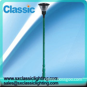 Steel Q235 Outdoor 5-30m Conical/octagonal Double-arm Lighting Pole